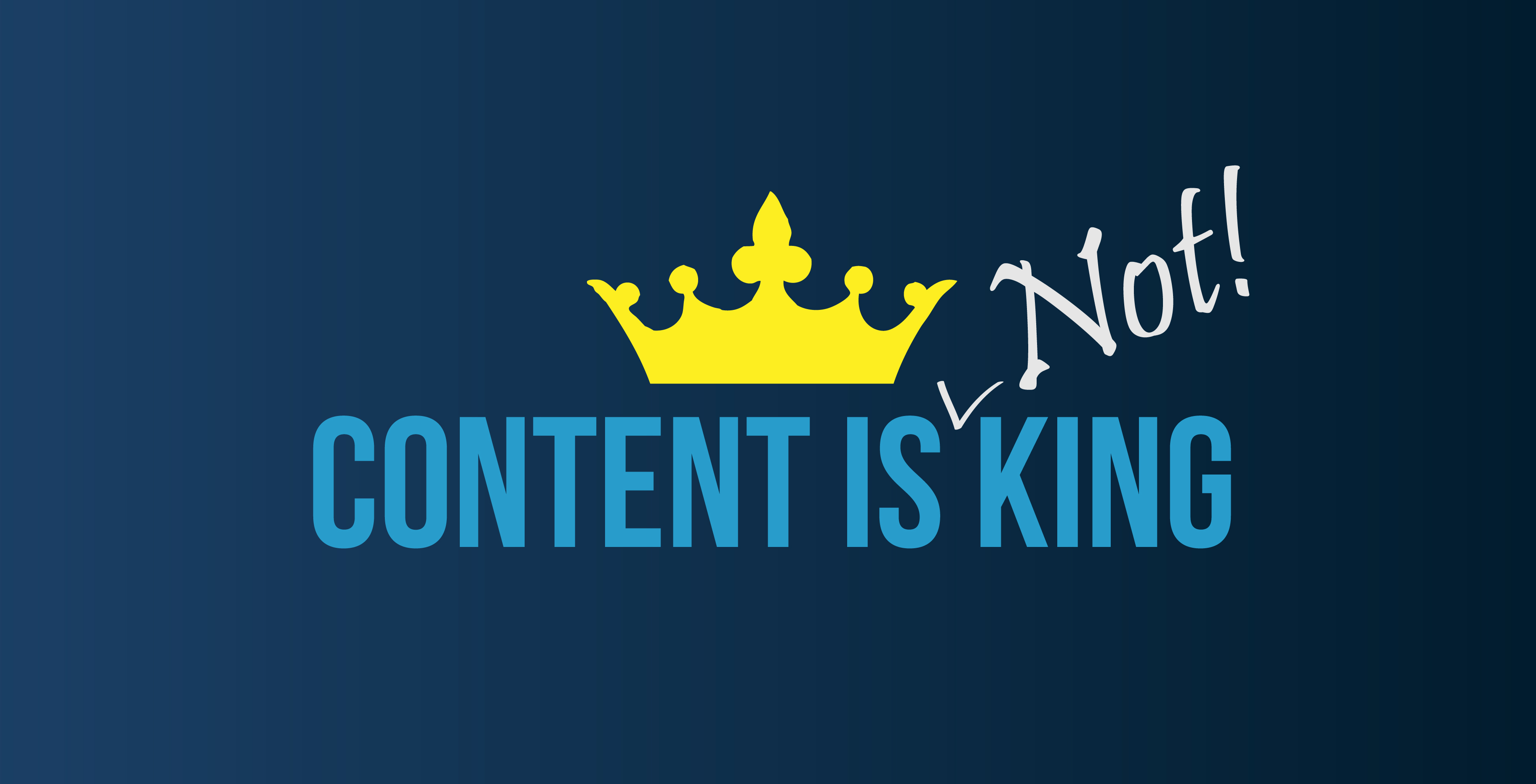 """The History Of """"content Is King"""""""